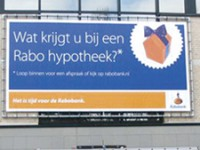 Hoger aandeel hypotheekmarkt voor Rabobank.