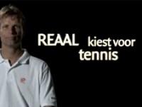 REAAL is sponsor van de KNLTB: REAAL kiest voor tennis